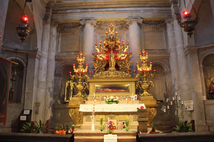 Detalle del Altar