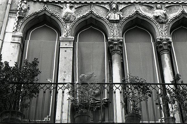 Los símbolos de los 4 evangelistas del tetramorfo (palacio Agnusdio) Foto: Paolo Monti, CC BY-SA 4.0 <https://creativecommons.org/licenses/by-sa/4.0>, via Wikimedia Commons Ver traducción