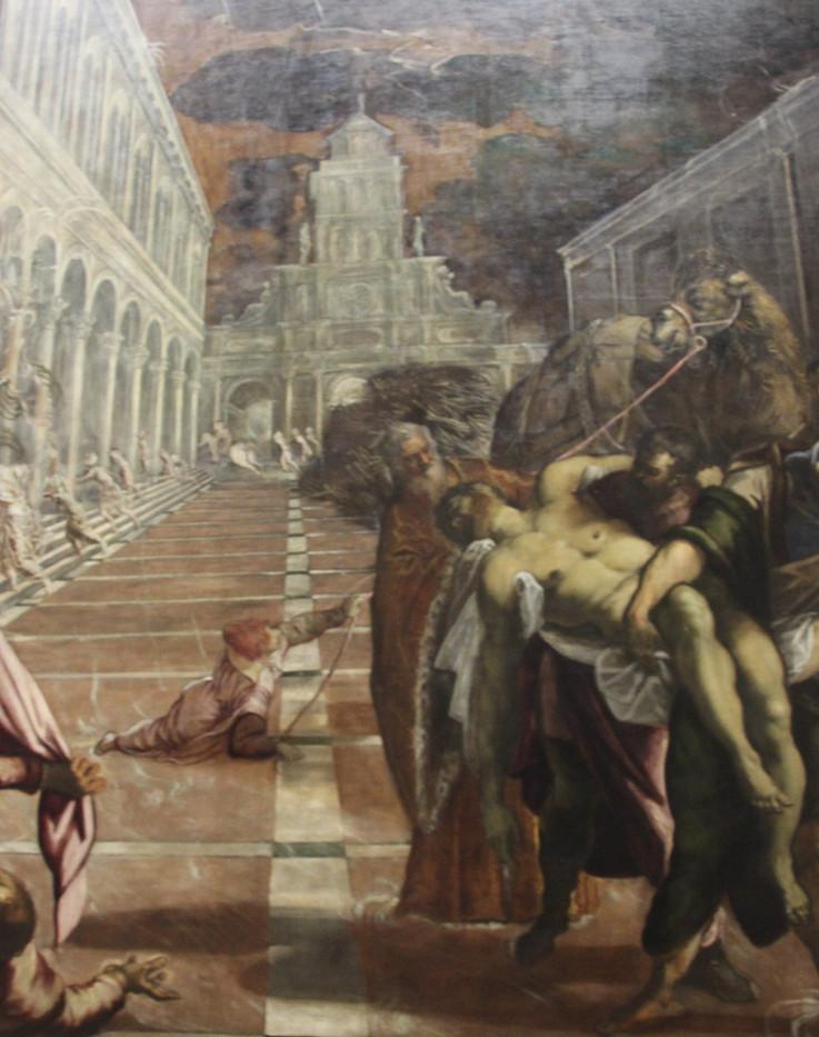 Traslado del cuerpo de San Marcos de Tintoretto