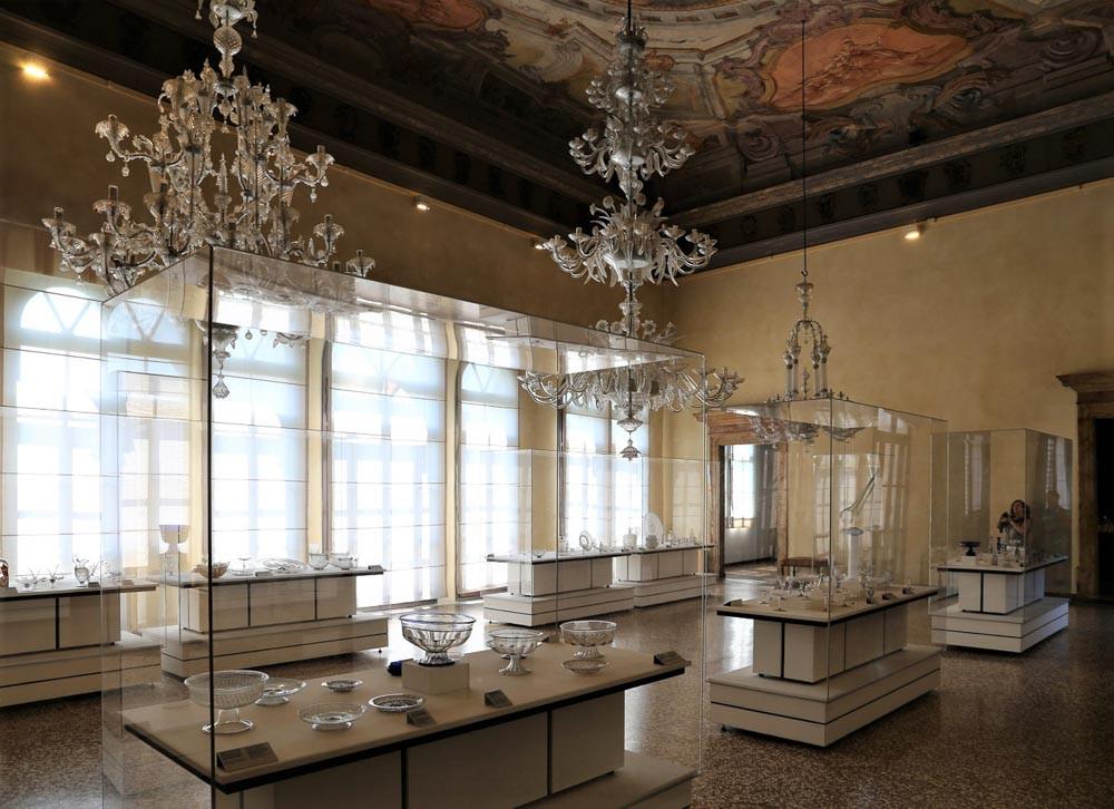 Interior del Museo del Vidrio de Murano