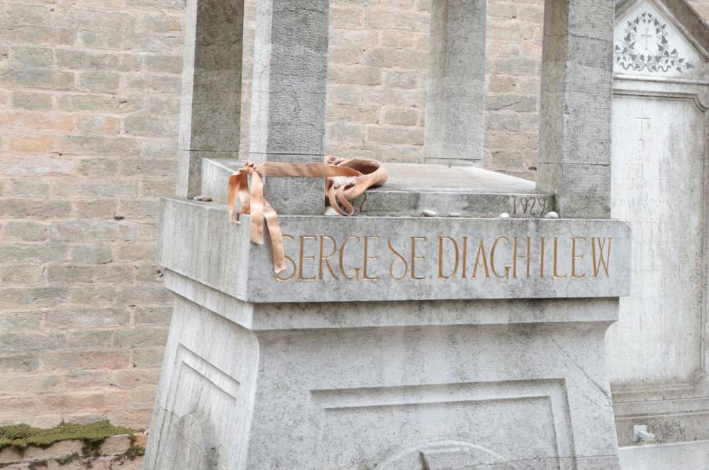 La tumba de Sergey Diaghilev