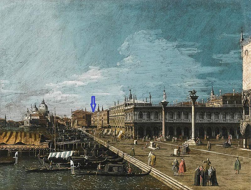 ANT1750 Venice,_a_View_Along_The_Molo_(B
