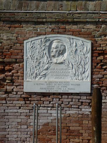 Placa conmemorativa de Wagner