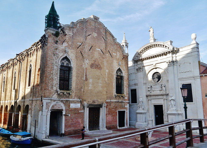 Scuola e iglesia de la Misericordia