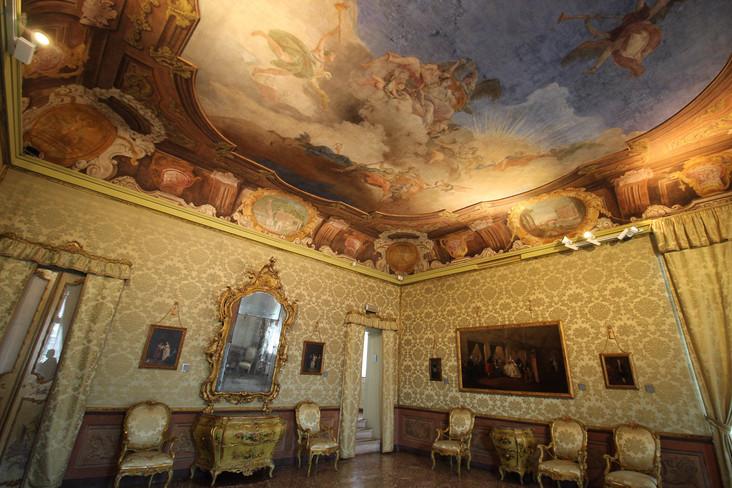 Sala del Parlatorio, fresco Cedini