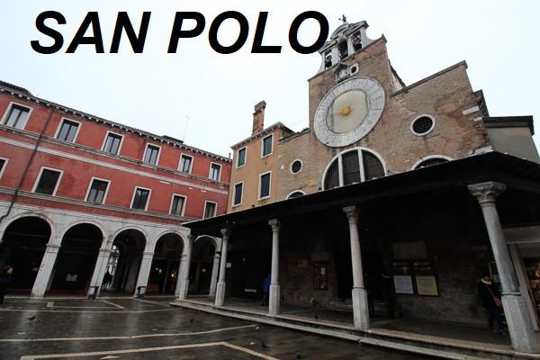 San Polo: Campo San Giacomo de Rialto