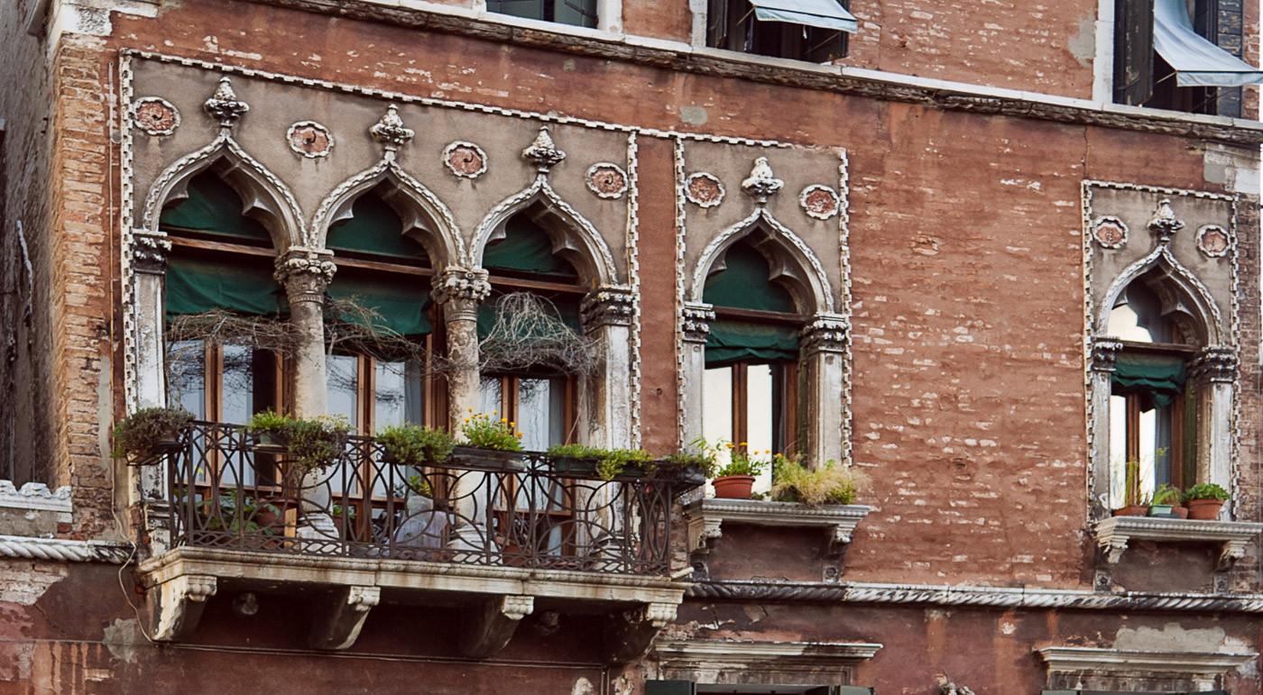 Detalle casa de Tintoretto