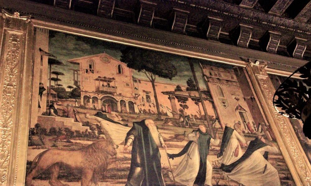 San Jerónimo y el León en el convento