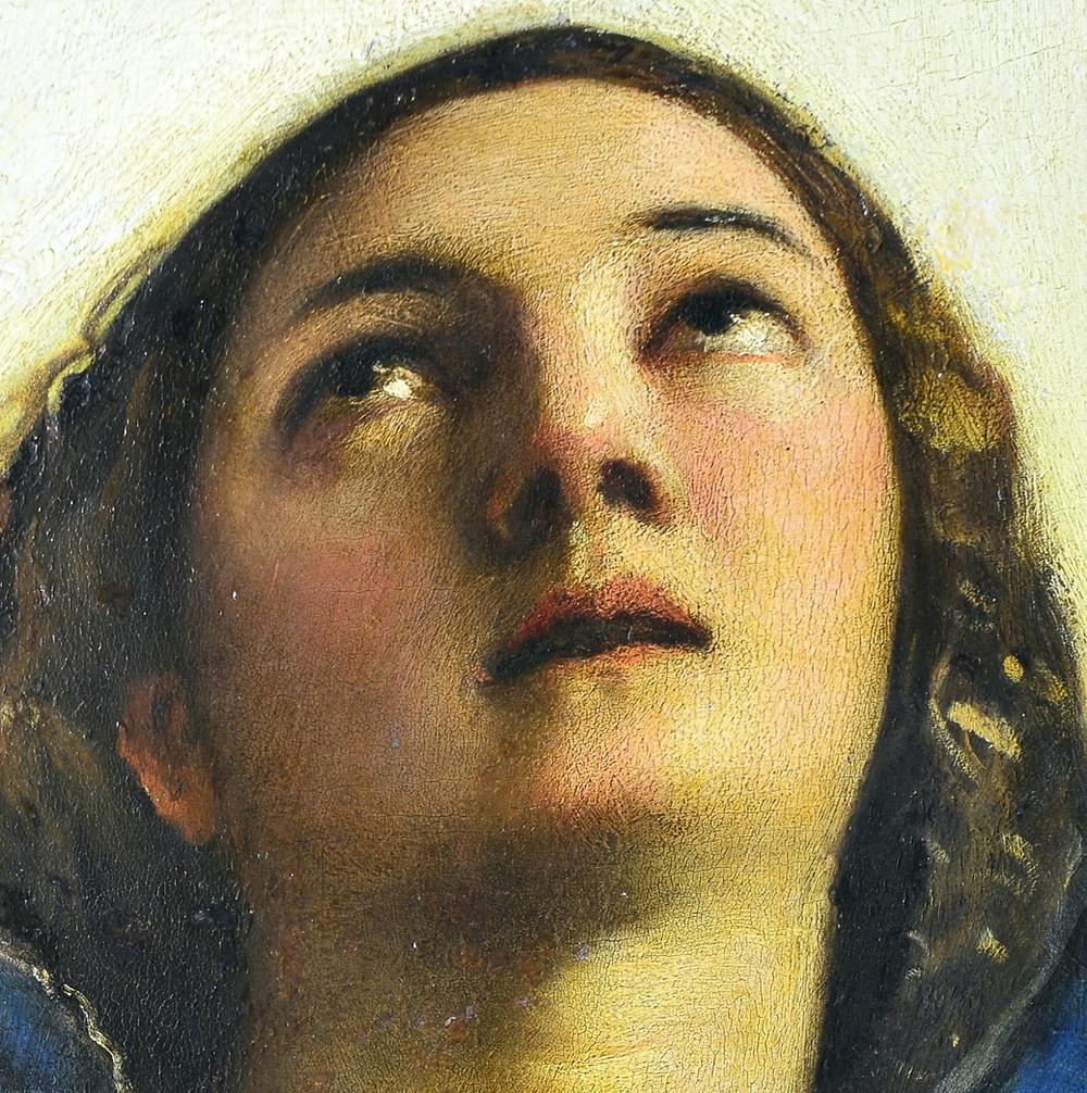 La belleza mística de la Virgen