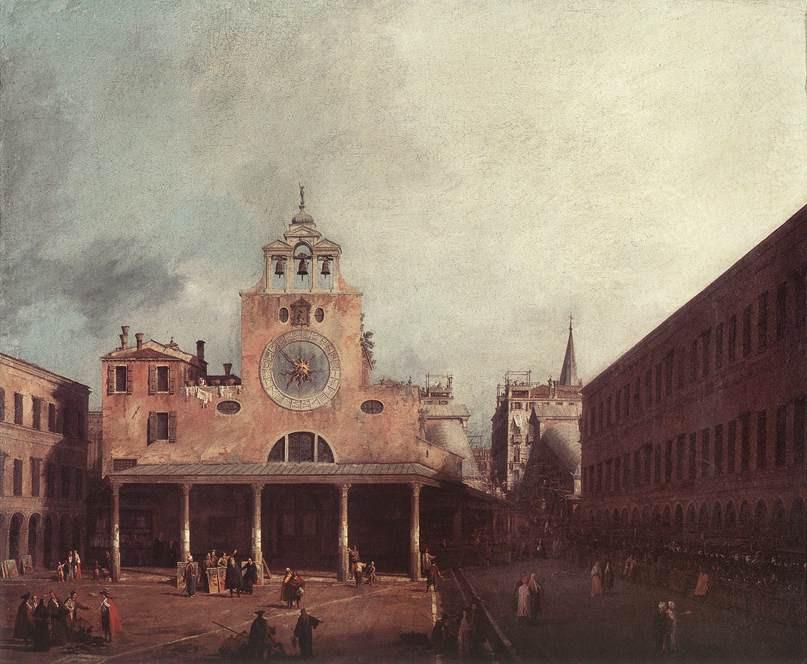 Plaza e iglesia de San Giacomo de Rialto