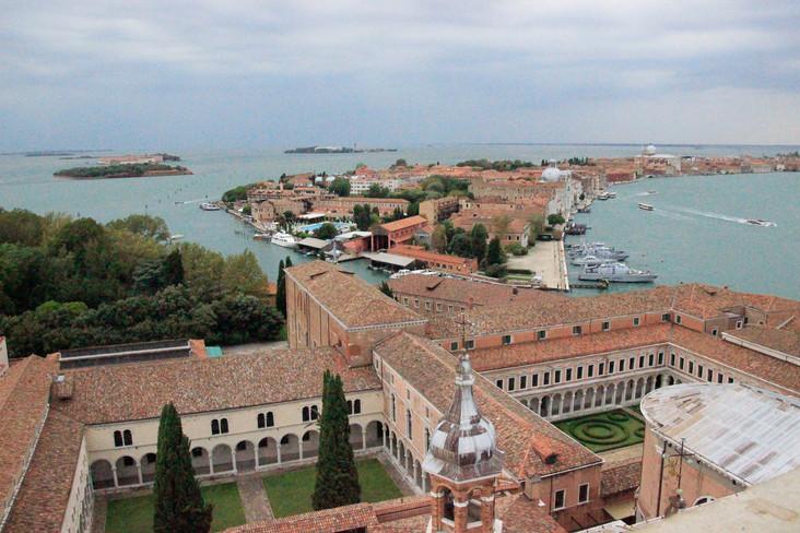Vista de la Giudecca desde campanario