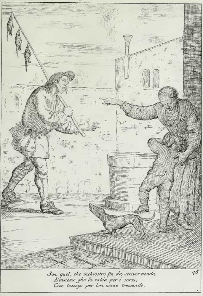 El inchiostro: vendedor de matarratas y tinta