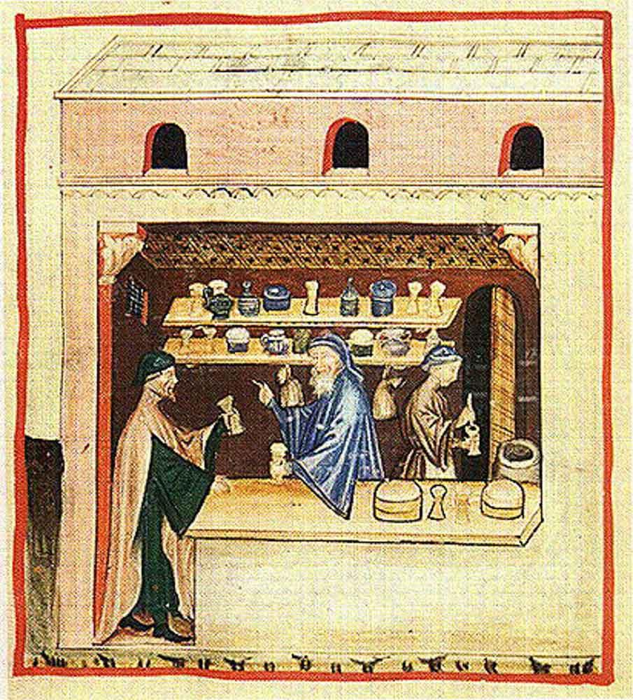 Boticario medieval