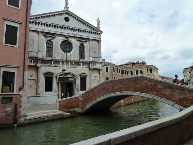 La iglesia desde la Fondamente de San Sebastiano