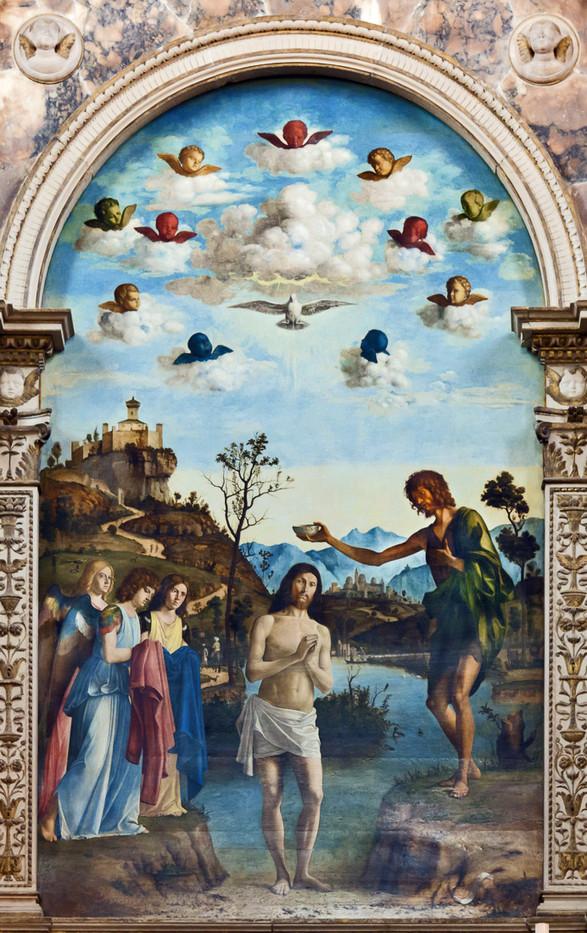 Bautismo de Cristo, Cima de Conegliano
