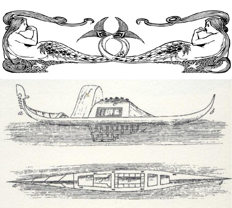 Sirenas y debajo la góndola SIRENA con su rejilla inferior