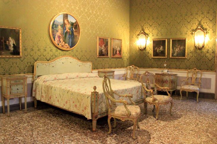Dormitorio del palacio