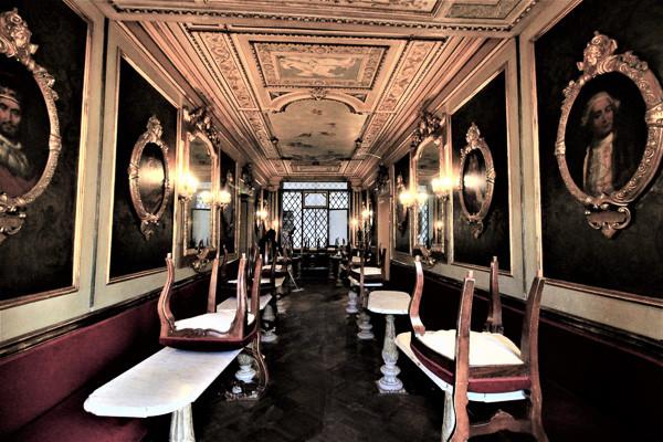 La Sala de los Hombres Ilustres Caffe Florian