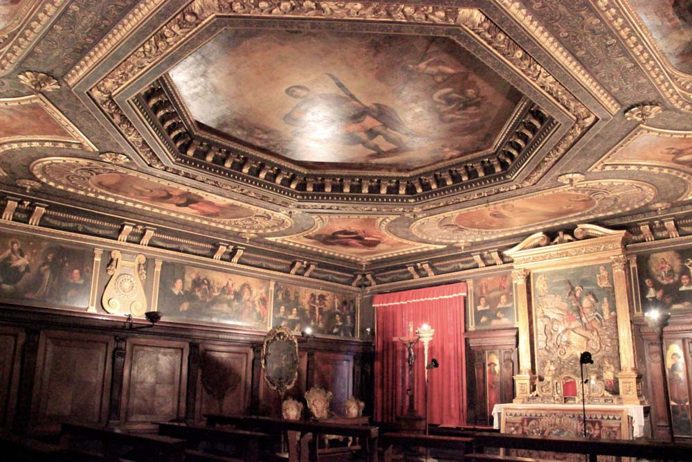 Interior de la Scuola Dalmata