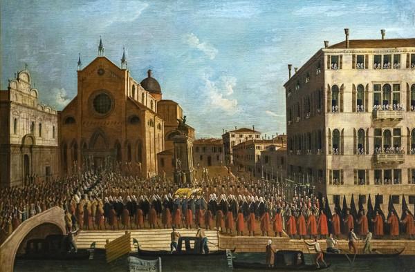 Funerales del Dux de Venecia: Alvise Mocenigo