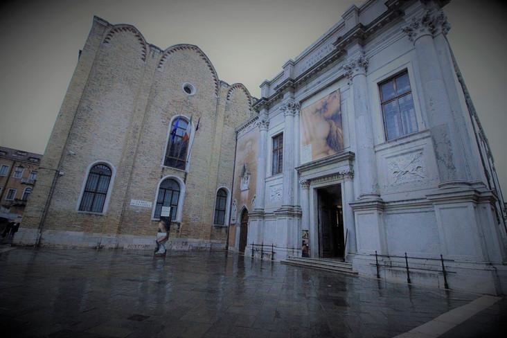 Fachada de la antigua Scuola