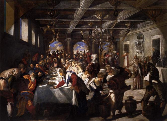 Las Bodas de Caná, Tiziano