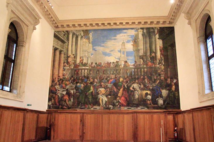 El refectorio de Palladio con la Boda en Caná