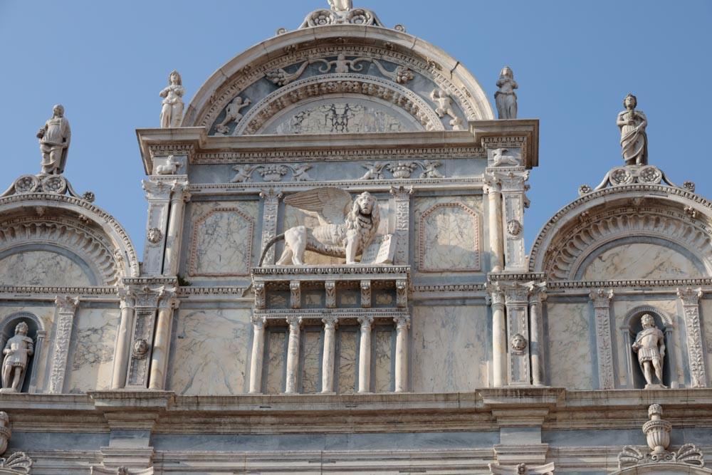El león de San Marcos, imagen del poder del estado veneciano