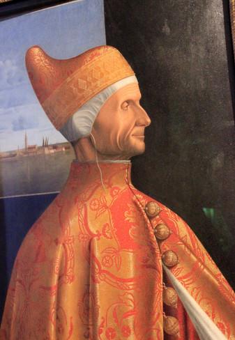 Retrato dux Leonardo Loredan de Carpaccio