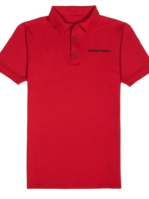 Hungry Koala Records RED Polo Shirt