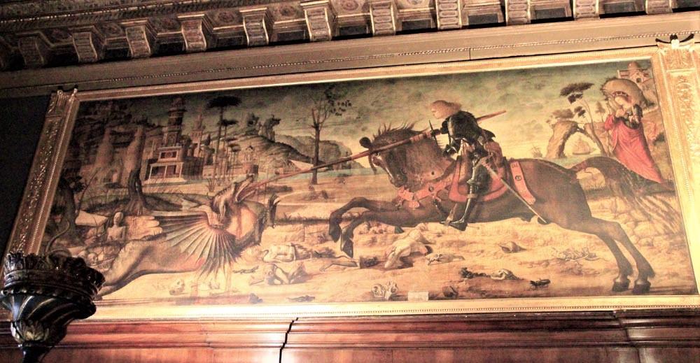 San Jorge contra el dragón