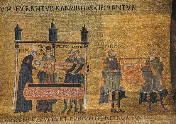 El traslado del cuerpo de San Marcos a Venecia