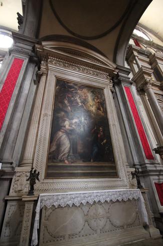 Altar dela Anunciación de Tiziano