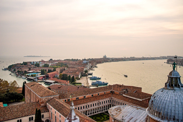 Vista desde el campanario de la Isla de la Giudecca