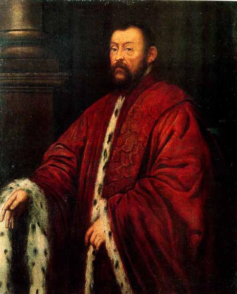 Marcantonio Barbaro por Tintoretto