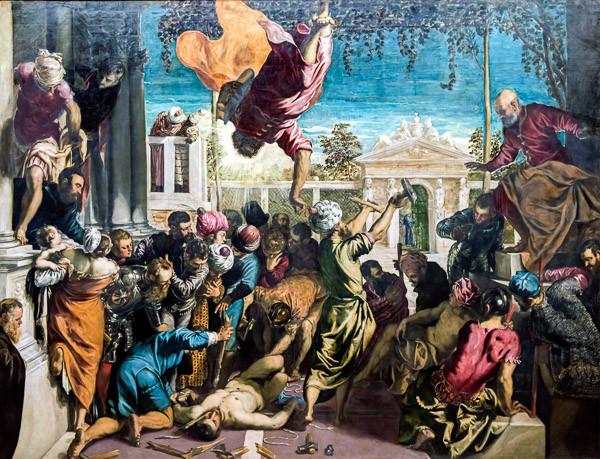 El milagro del esclavo de Tintoretto
