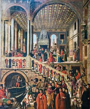 Curación milagrosa de la hija de Benvegnudo de San Polo, Mansueti