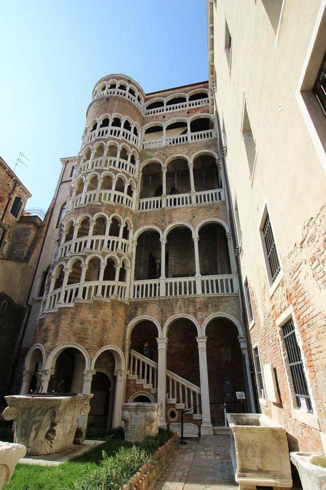 El palacio Contarni del Bovolo