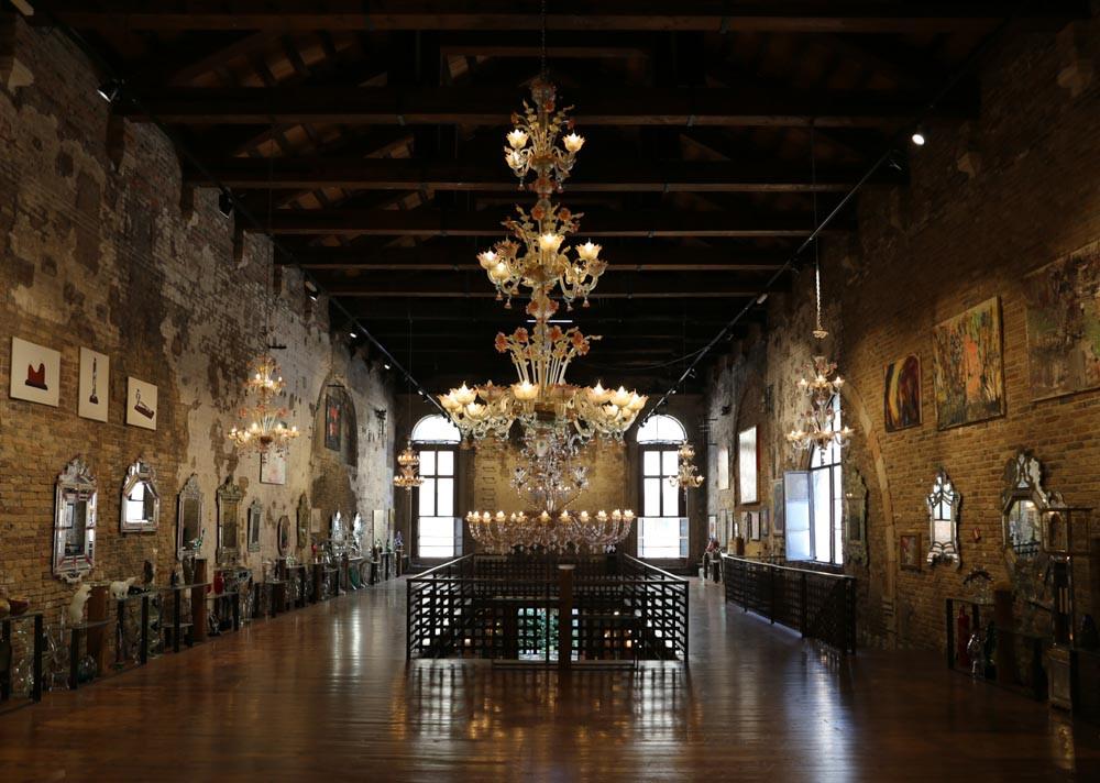 The Glass Cathedral, en el ex convento de Santa Clara en Murano