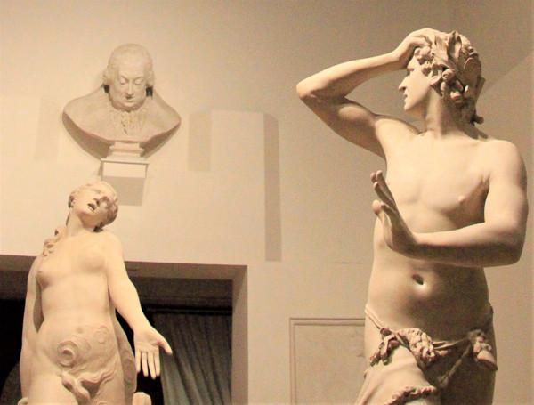 Orfeo y Eurídice en el museo Correr