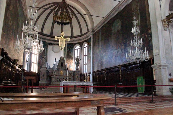 Interior iglesia de San Pietro Martire