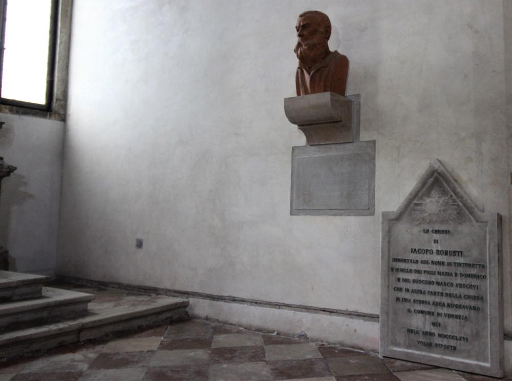 La capilla del Tintoretto