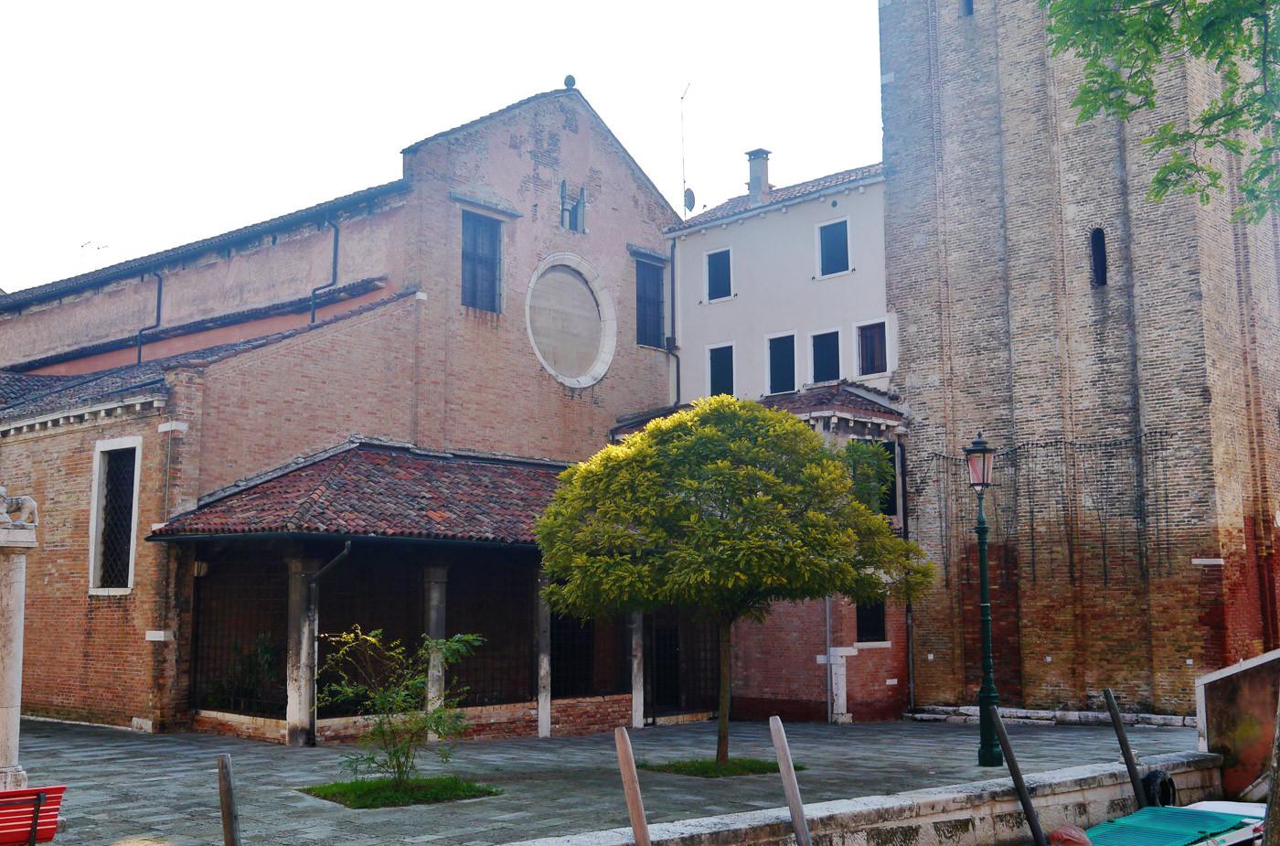 Ambiente medieval en la plaza