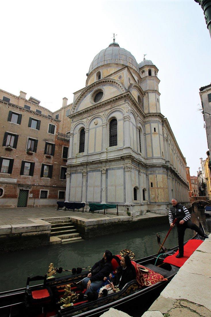La iglesia Santa Maria dei Miracoli