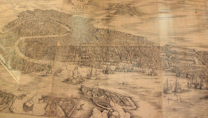 El mapa de Jacopo de' Barbari (1500)
