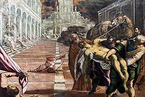 Cuando las reliquias de ¿San Marcos? llegaron a Venecia