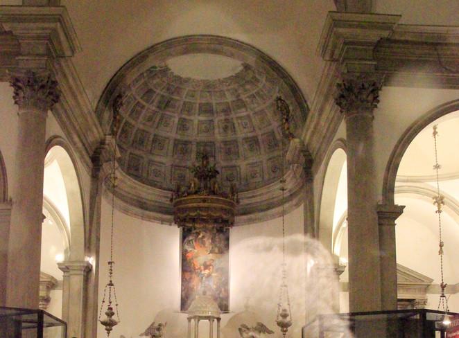 Detalle de cúpula interior