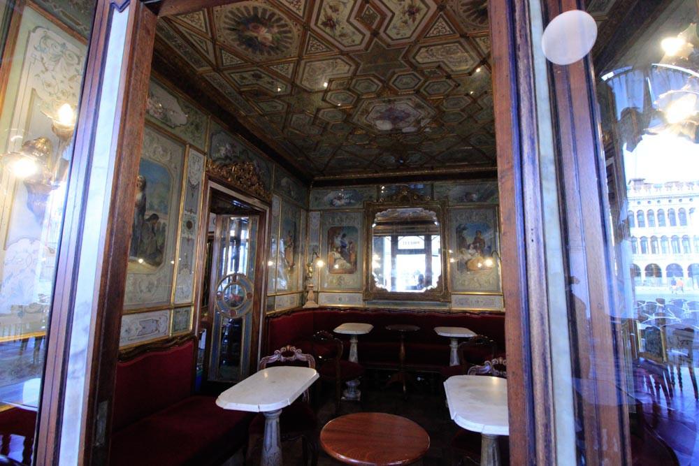 La sala china del Café Florian
