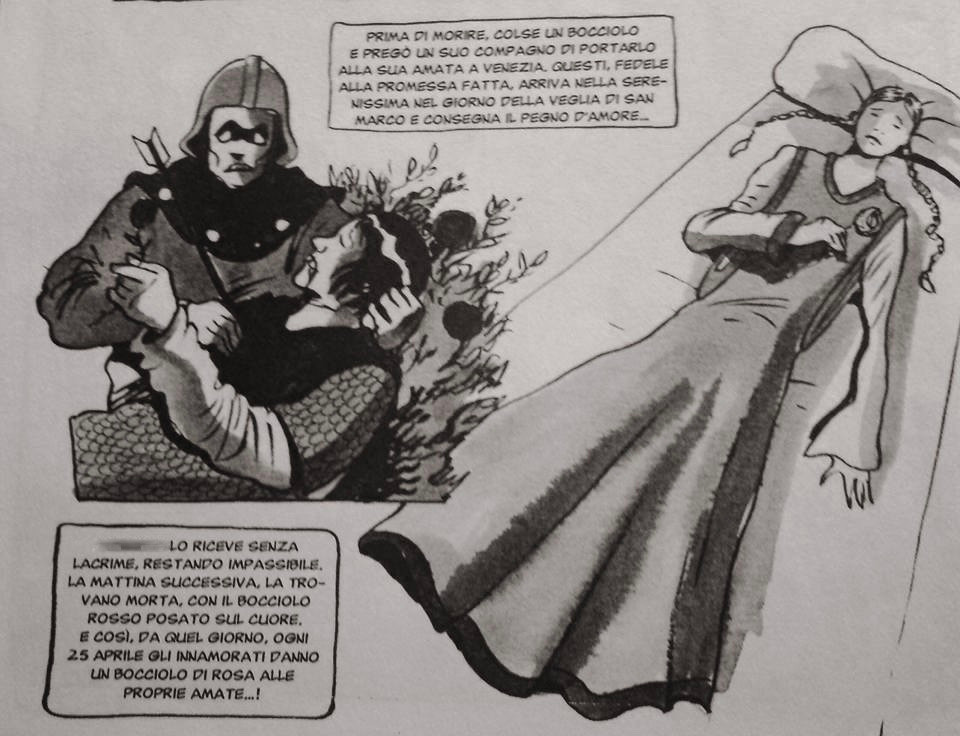 La historia de Vulcana y Tancredi