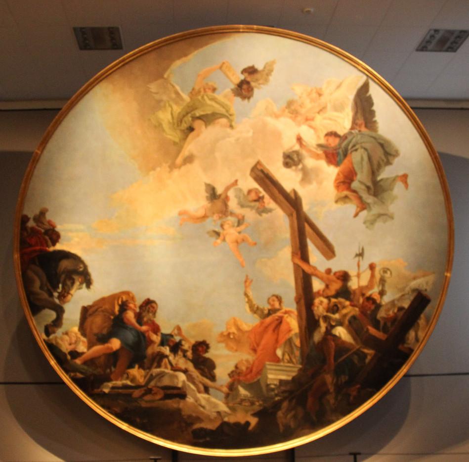 La exaltación de la Cruz y Santa Elena de Tiepolo
